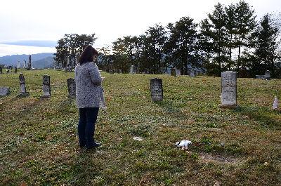Pink & John's Grave