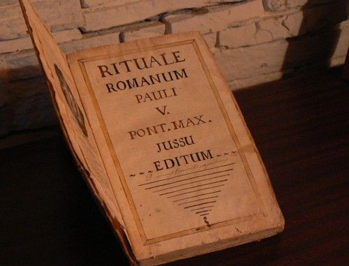 Exorcism Ritual Book